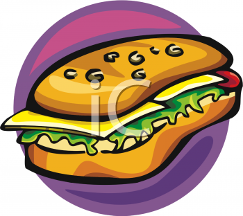 Hoagie clipart svg free library Clipart Picture Of A Hoagie Sandwich - foodclipart.com svg free library
