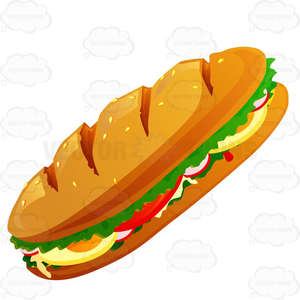 Hoagie clipart clipart black and white library Hoagie Clipart Images | Free Images at Clker.com - vector ... clipart black and white library