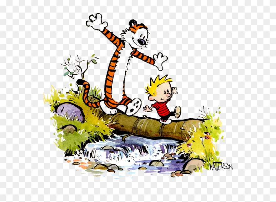 Hobbes clipart picture royalty free download Calvin And Hobbes Png Image - Calvin And Hobbes Stream ... picture royalty free download