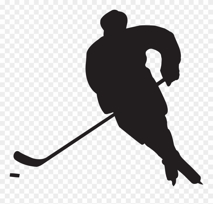 Hockey clipart vector black and white download Free Hockey Clipart - Png Download (#52665) - PinClipart vector black and white download