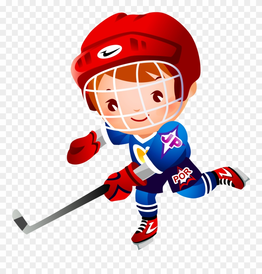Hockey clipart image free Ice Hockey Stick Cartoon Clip Art - Ice Hockey Cartoon - Png ... image free