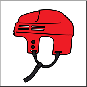 Hockey helmet clipart clipart royalty free download Clip Art: Hockey Helmet Color I abcteach.com | abcteach clipart royalty free download