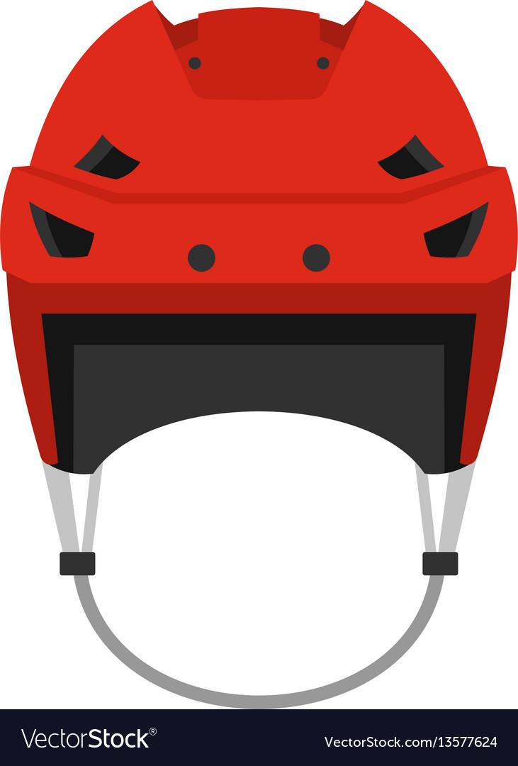 Hockey helmet clipart jpg stock Hockey helmet icon flat style jpg stock