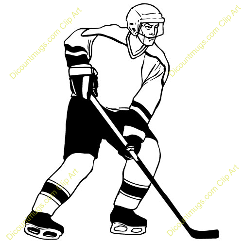 Hockey player clipart free transparent library Free Hockey Player Clipart Custom Clip Art 14052 - Free Clipart transparent library