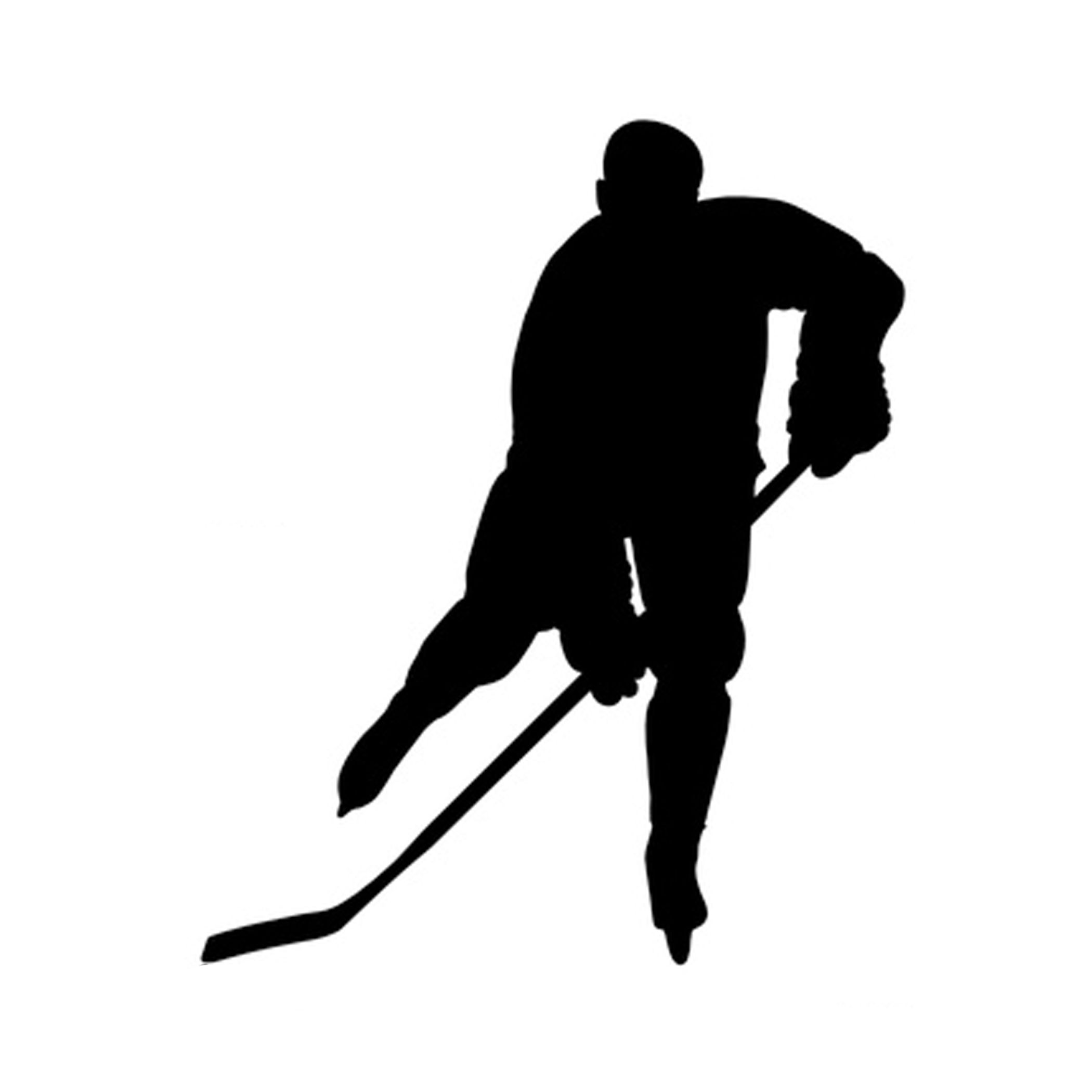 Hockey player silhouette clipart banner freeuse download free svg files | To download the free SVG file, click here ... banner freeuse download