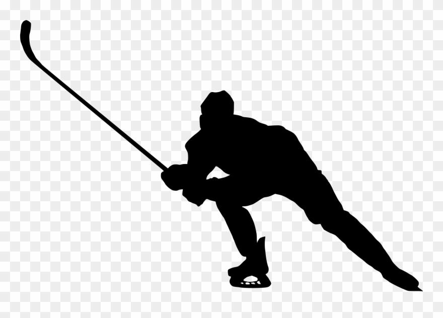 Hockey player silhouette clipart clip art freeuse library Player Silhouette Clip Art - Hockey Players Siluet Png ... clip art freeuse library