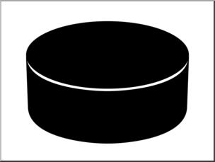 Hockey puck clipart