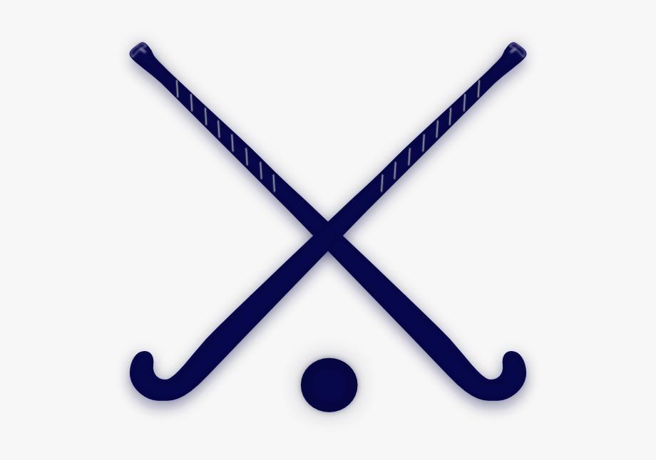 Hockey sticks clipart jpg library Download Navy Crossed Field Hockey Sticks Clip Art - Red ... jpg library
