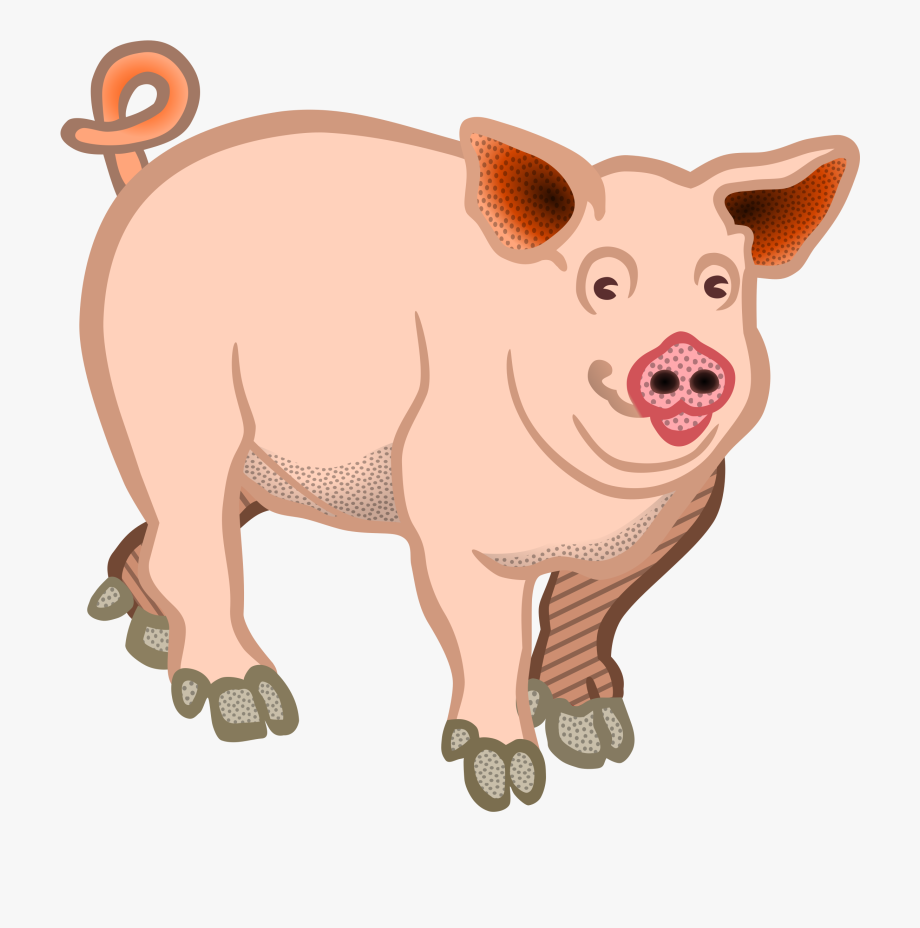 Pigs clipart images image transparent download Pig - Coloured - Clip Art Of Pig #57885 - Free Cliparts on ... image transparent download
