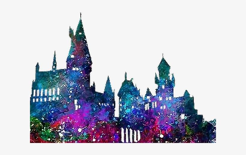 Hogwarts castle clipart image library download Hogwarts Castle Png - Harry Potter Castle Watercolor ... image library download