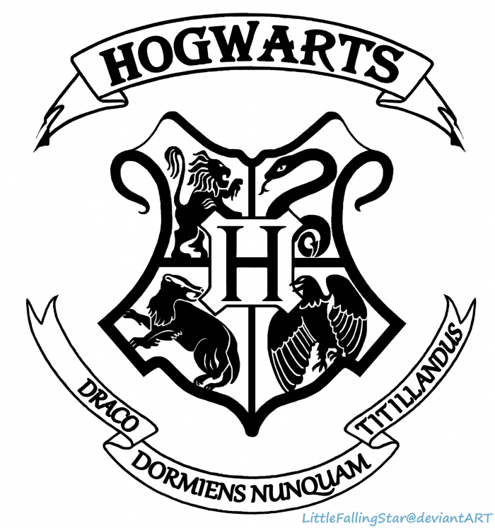 Hogwarts logo clipart clipart transparent library Harry Potter Hogwarts Logo Png Vector, Clipart, PSD ... clipart transparent library