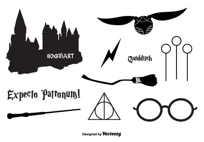 Hogwarts clipart vector clip freeuse Hogwarts Vector Icons - Download Free Vector Art, Stock ... clip freeuse