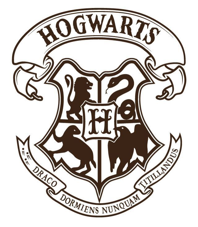 Hogwarts logo clipart image royalty free stock Hogwarts Logo Vector 5 - portsmou thnowand then   drawing in ... image royalty free stock