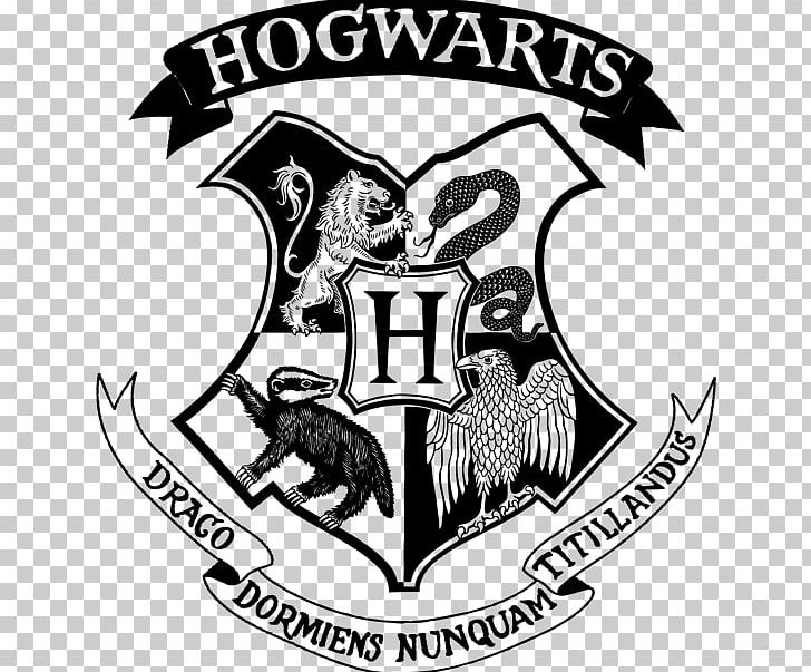 Hogwarts logo clipart clipart transparent library Hogwarts Harry Potter Gryffindor Hermione Granger Sorting ... clipart transparent library