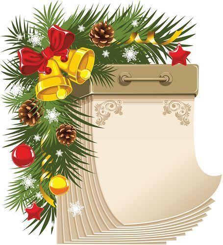 Hojas para el mes de diciembre clipart png library Cada día del mes de Diciembre | Deco - Navidad | Pinterest ... png library