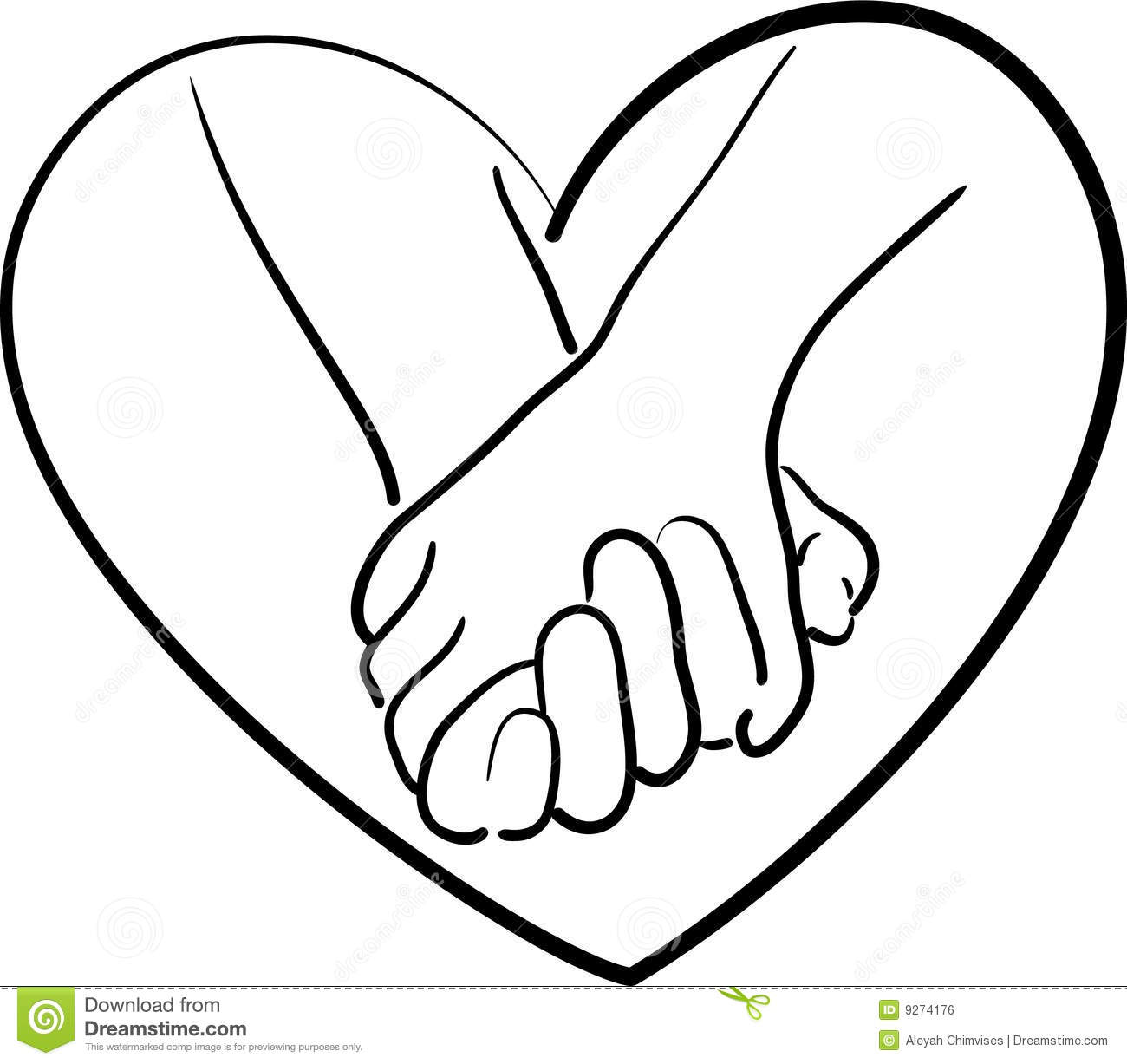 Holding hands clipart free clip art black and white 8+ Holding Hands Clipart   ClipartLook clip art black and white