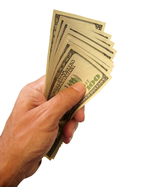 Holding money in hand clipart clipart free download Hand Holding US Dollars Money PNG Transparent Image - PngPix clipart free download
