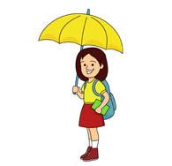 Holdingumbrella clipart svg library download Search Results for Umbrella - Clip Art - Pictures - Graphics ... svg library download