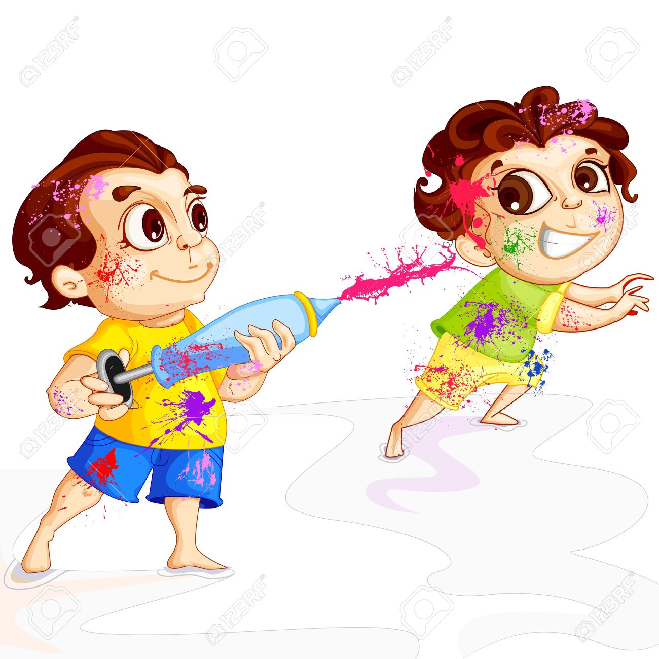 Holi images hd clipart
