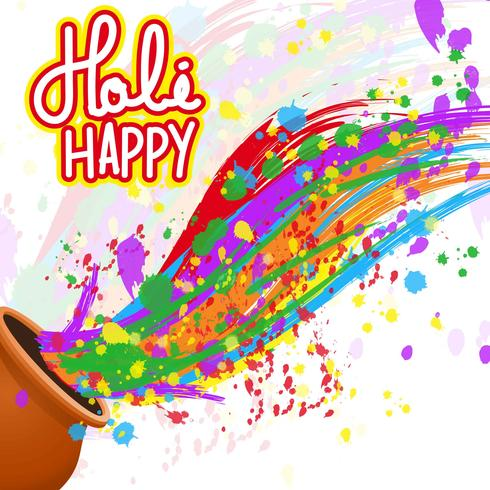 Holi clipart background png freeuse Happy Holi Background - Download Free Vectors, Clipart ... png freeuse