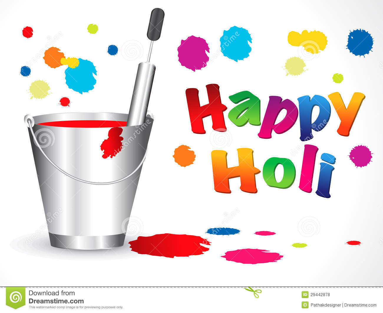 Holi clipart background jpg free library Abstract happy holi background | Clipart Panda - Free ... jpg free library