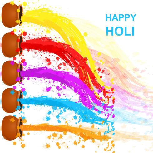 Holi clipart background picture freeuse Happy Holi Background - Download Free Vectors, Clipart ... picture freeuse