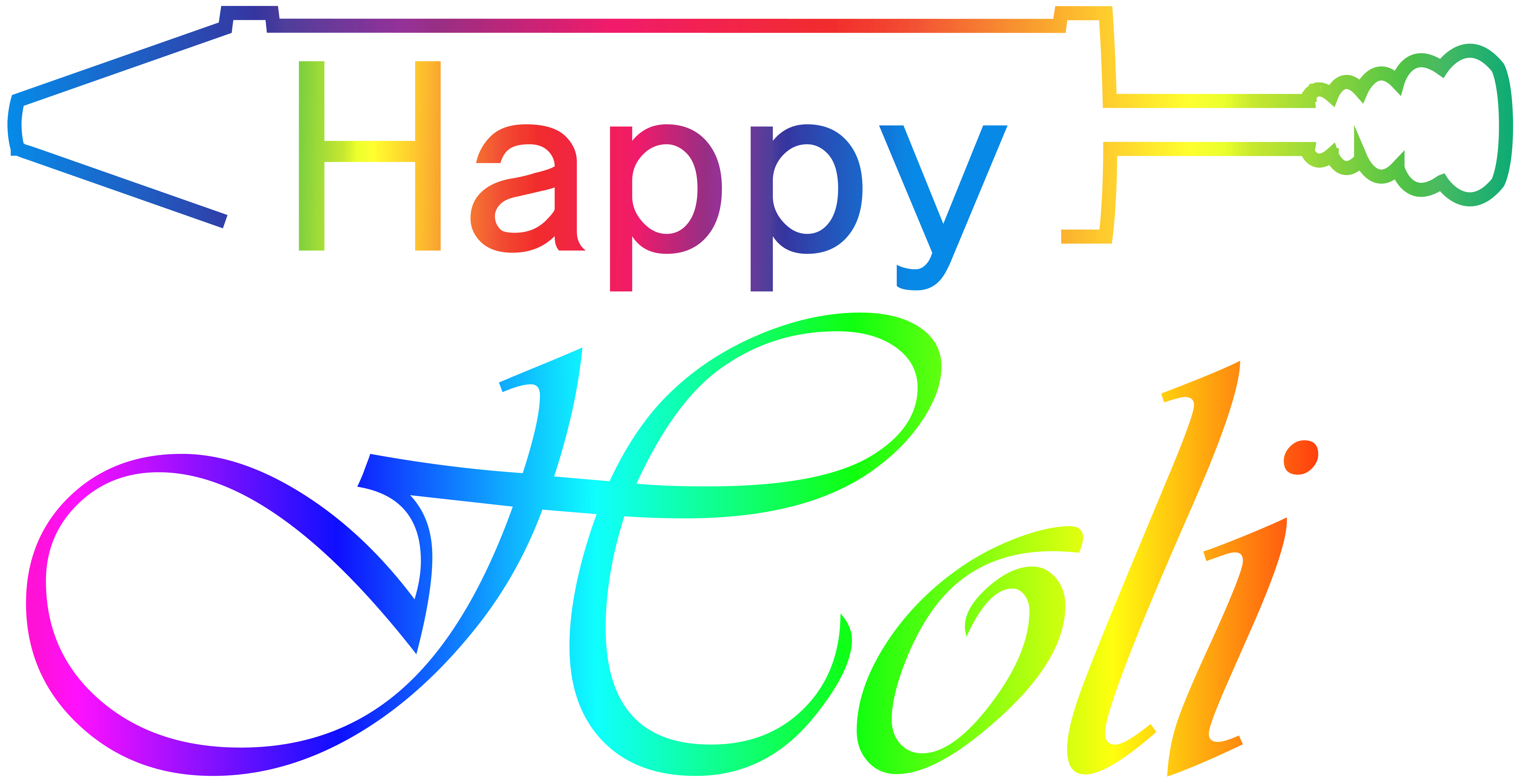 Holi images hd clipart graphic royalty free Happy Holi Transparent Clip Art Image   Gallery ... graphic royalty free