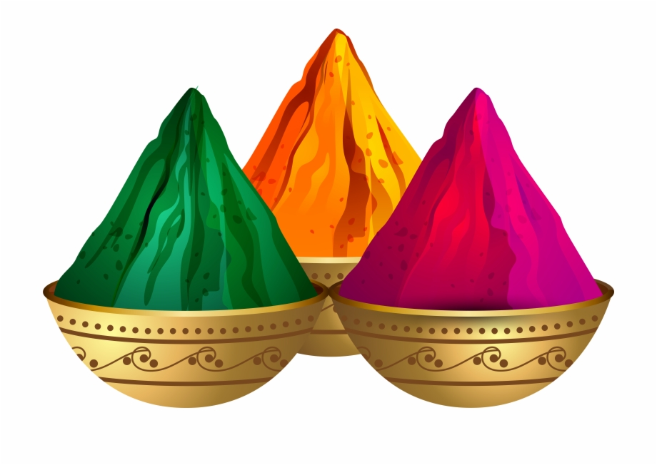 Holi images hd clipart vector Holi Colors Powder Png , Png Download - Holi Clipart Png ... vector