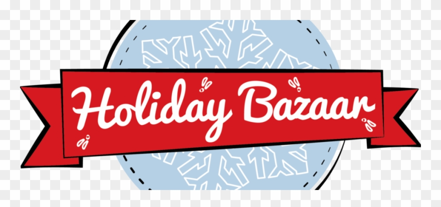 Holiday bazaar clipart graphic black and white stock Bazaar Logo Color - Holiday Bazaar Clipart (#1654410 ... graphic black and white stock