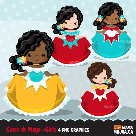 Holiday dancers clipart image freeuse library Cinco de Mayo clipart. Mexican holiday mariachi dancers ... image freeuse library
