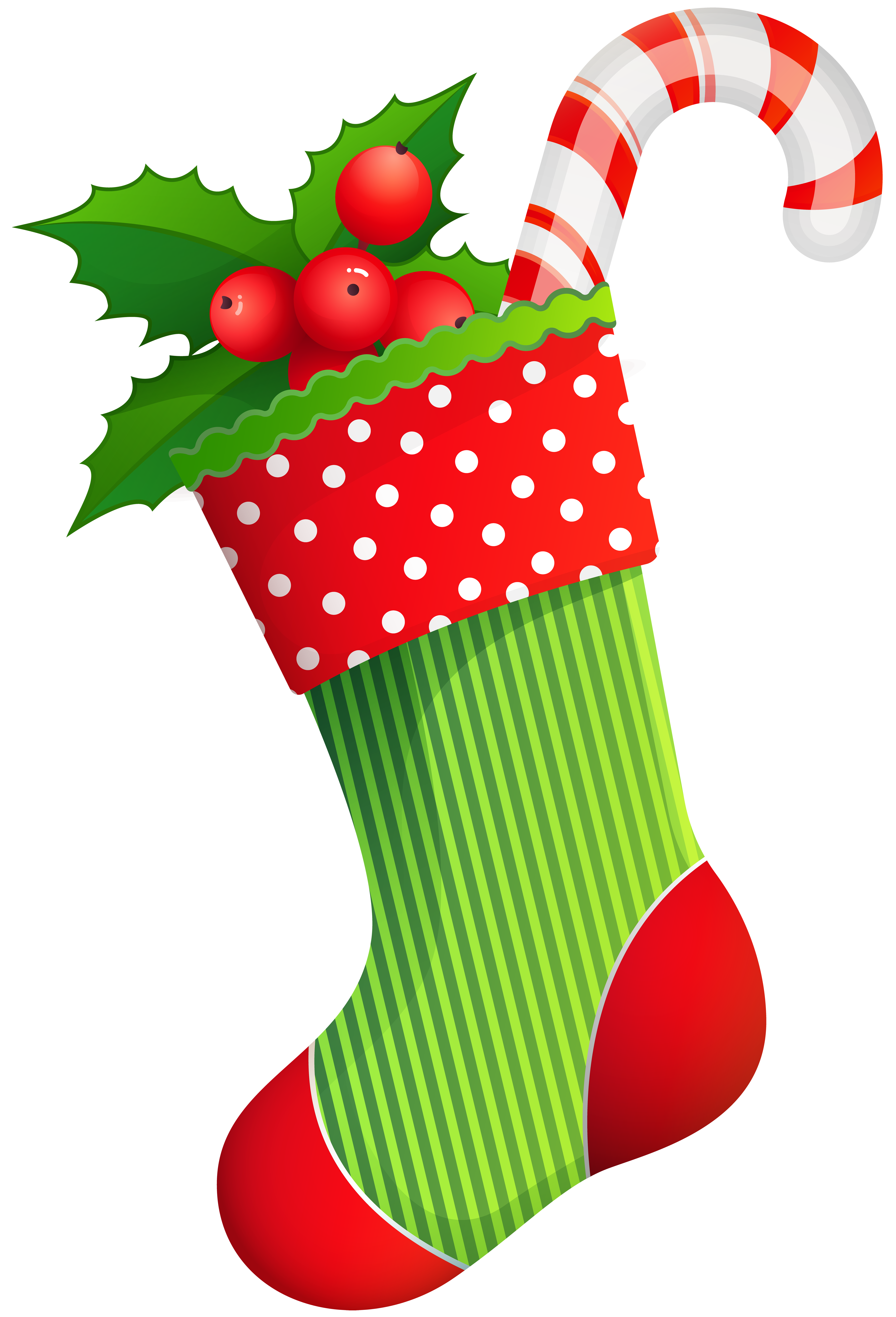 Holiday free clipart christmas image free library Christmas Holiday Stocking Transparent PNG Clip Art ... image free library