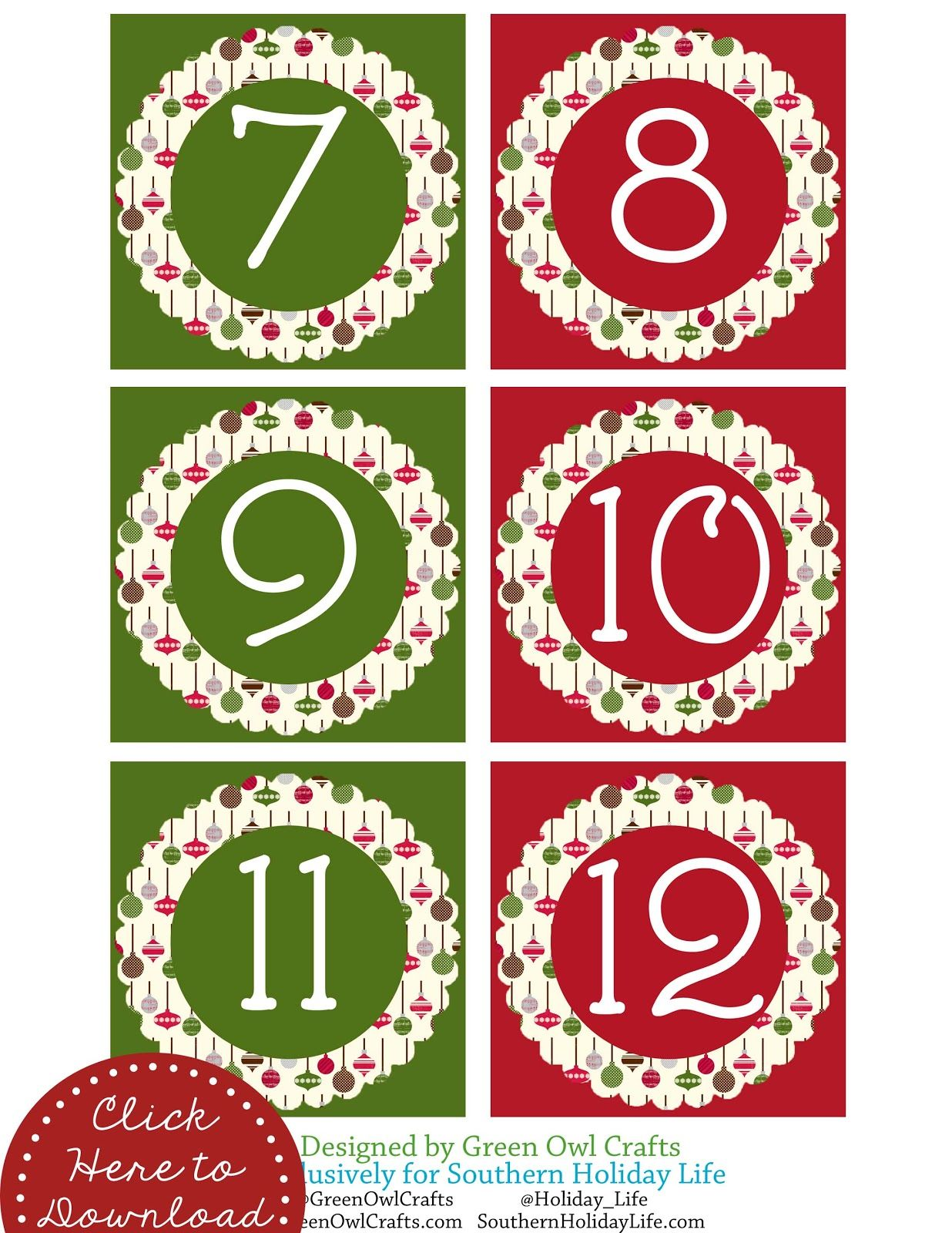 Holiday numbers clipart image library library green owl crafts: Free Holiday Printables : Thanksgiving ... image library library