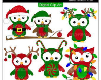 Holiday owl clipart picture black and white download Free Santa Owl Cliparts, Download Free Clip Art, Free Clip ... picture black and white download
