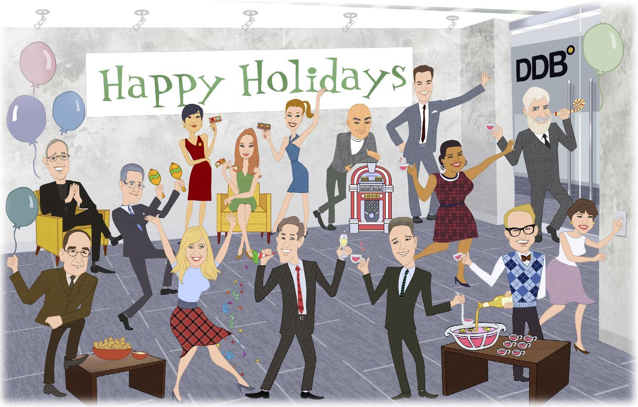 Holiday party images clipart