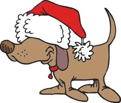 Holiday pet clipart clipart royalty free stock Holiday Dog Clipart clipart royalty free stock