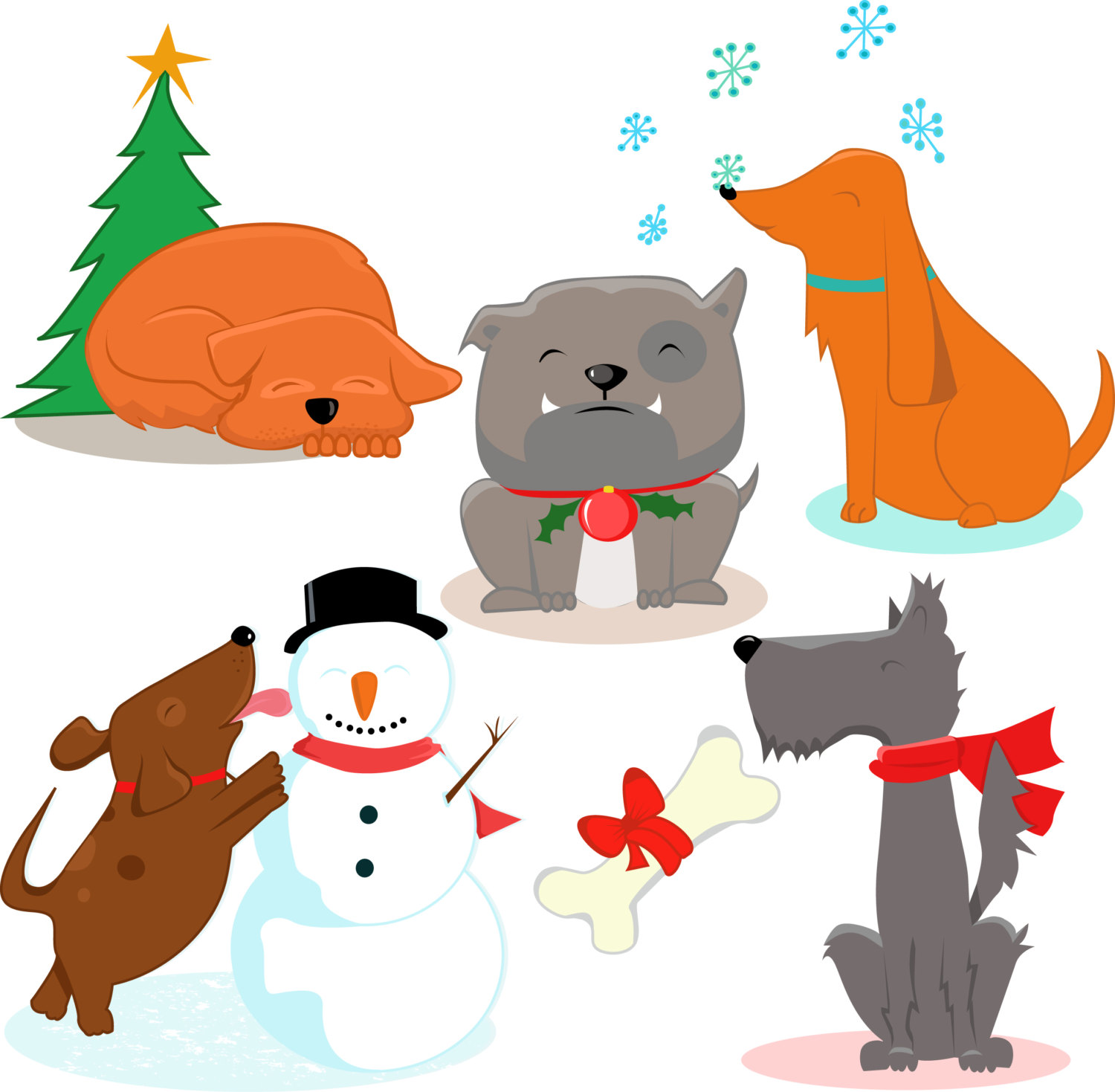 Holiday pet clipart clip free download Holiday Animal Clipart | Free download best Holiday Animal ... clip free download