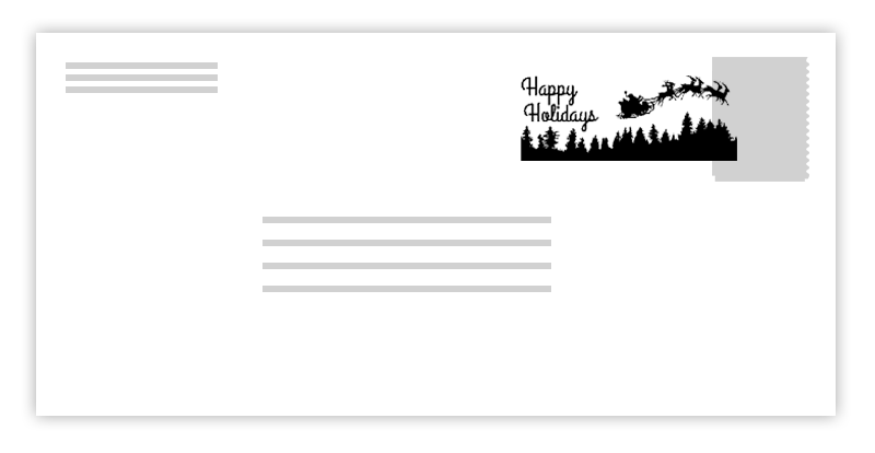 Holiday postmark clipart snowflake clip art library Postmarks - USPS Holiday News 2017 - about.USPS.com clip art library