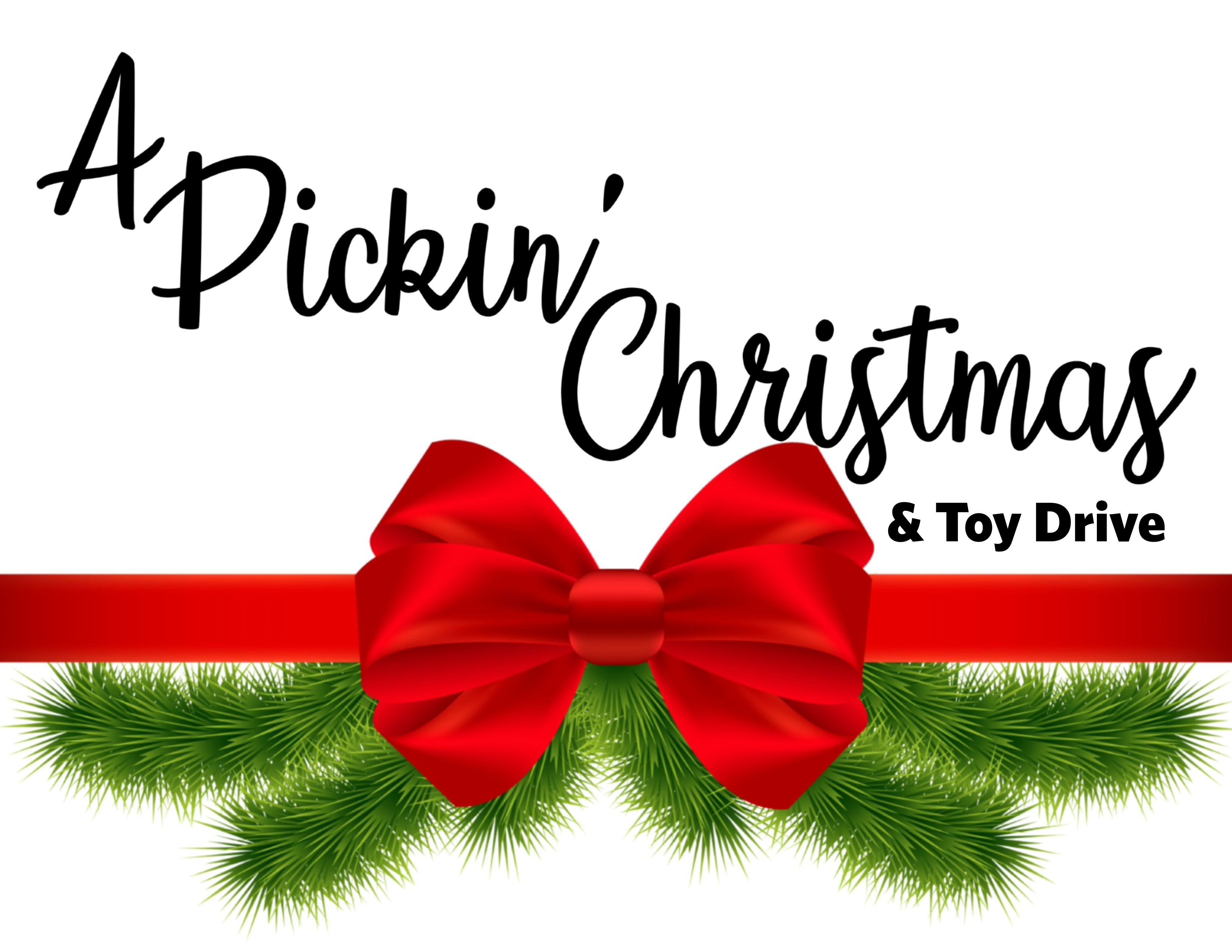 Holiday toy drive clipart banner transparent A Pickin\' Christmas & Toy Drive - Earl Scruggs Center banner transparent