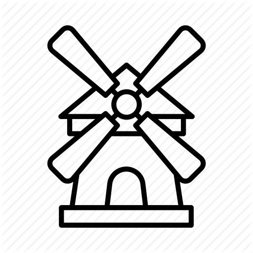 Holland windmill beer clipart graphic stock \'Dutch\' by Made By Made graphic stock