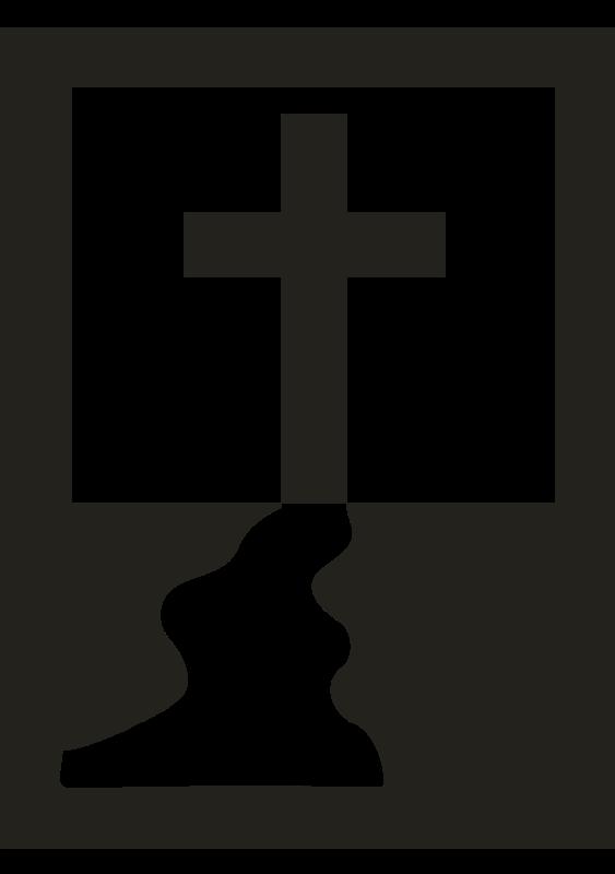 Hollow cross clipart svg transparent Cross Free Stock Clipart - Stockio.com svg transparent
