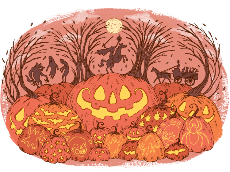 Hollow pumpkin clipart png library download Sleepy Hollow — Carolee Karpell png library download