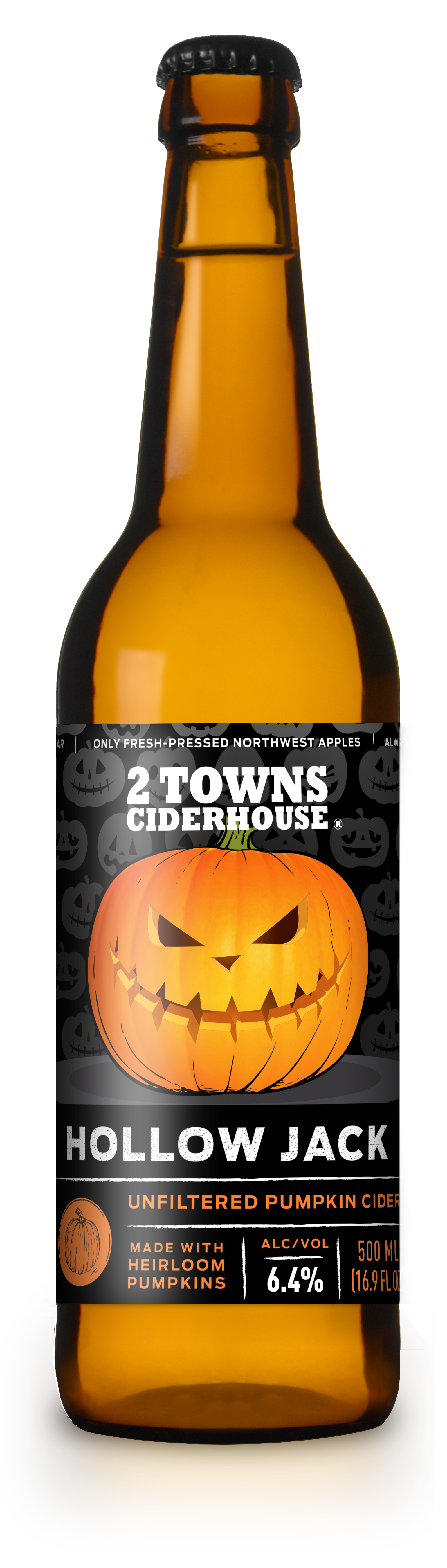 Hollow pumpkin clipart banner library 2 Towns Ciderhouse Releases Hollow Jack Unfiltered Pumpkin Cider ... banner library