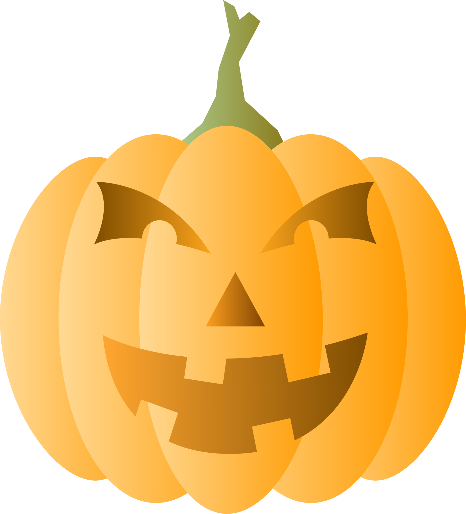 Hollow pumpkin clipart picture library library Clipart - Halloween Pumpkin picture library library