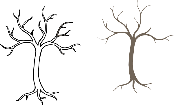 Hollow tree clipart banner free stock Hollow Tree Clip Art at Clker.com - vector clip art online ... banner free stock
