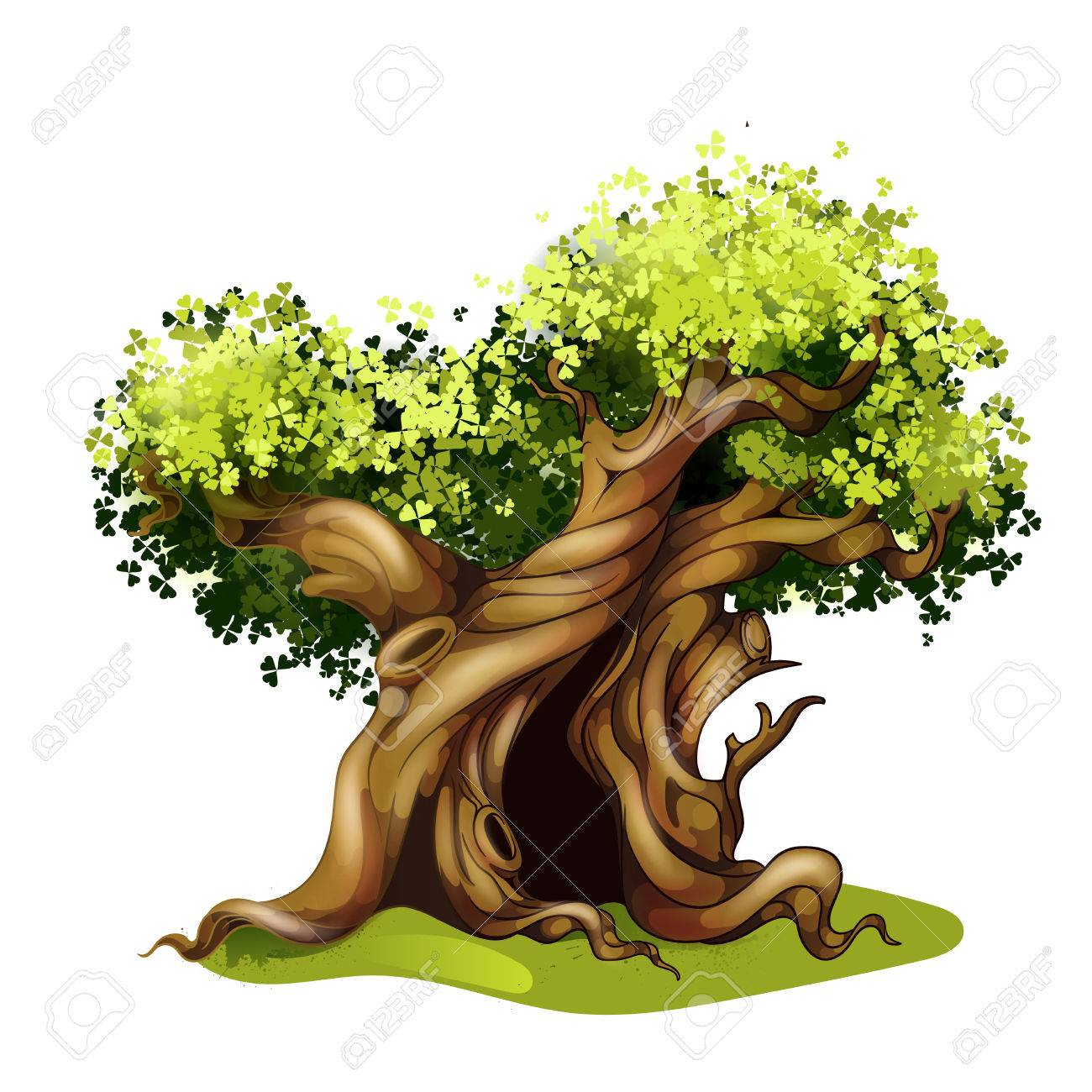 Hollow tree clipart clip stock Hollow Tree Cliparts - Making-The-Web.com clip stock