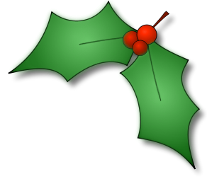 Holly christmas clipart png freeuse download holly leaves corner | Holidays | Christmas clipart ... png freeuse download