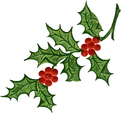 Holly free clipart jpg royalty free download Free Christmas Clip Art Holly | Clipart Panda - Free Clipart ... jpg royalty free download