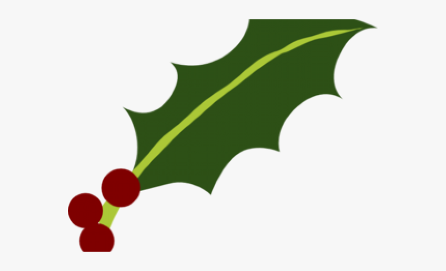 Holly leaf clipart clip transparent Holly Leaf And Berries #742472 - Free Cliparts on ClipartWiki clip transparent