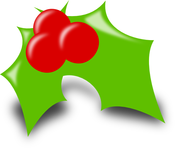 Holly tree clipart transparent download Holly Clip Art at Clker.com - vector clip art online, royalty free ... transparent download