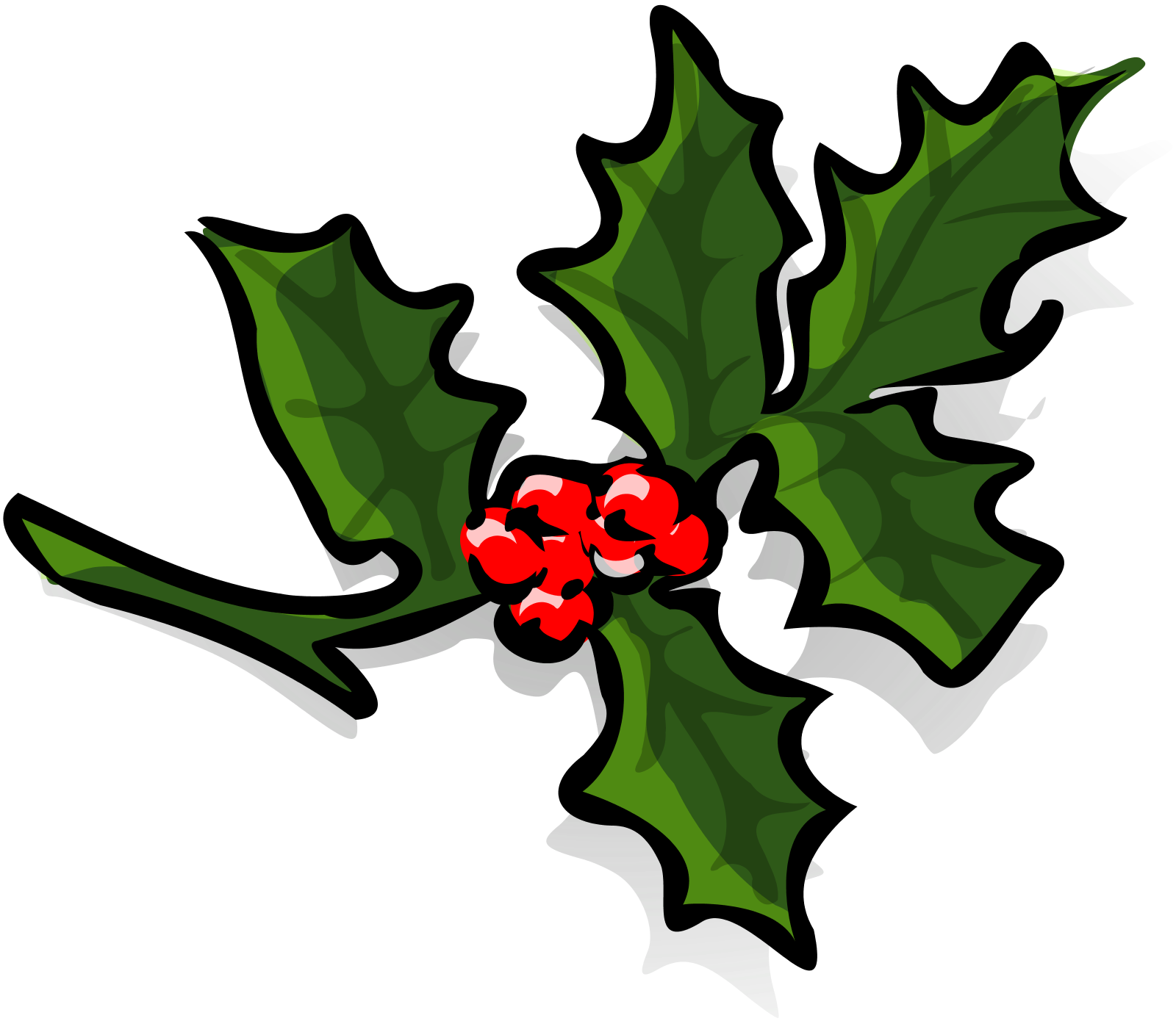 Holly tree clipart svg transparent Holly Clip Art Microsoft | Clipart Panda - Free Clipart Images svg transparent